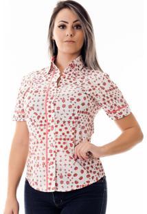 Camisa Pimenta Rosada Dona Cashmere