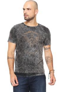 Camiseta Timberland Tbl Natural Born Bla Cinza