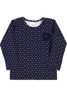 Blusa Rotativo Pulla Bulla - Feminino-Azul