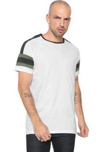 Camiseta Opera Rock Listras Branca