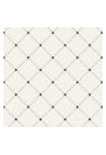 Papel De Parede Adesivo - Quadrado E Pontos 320 Rolo 0,58X3M