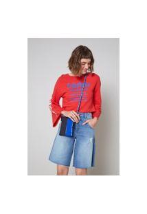 Bermuda Jeans Frente Menor