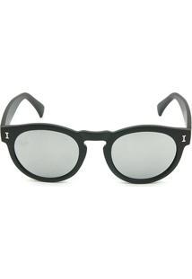 Óculos Bijoulux De Sol Espelhado - Feminino-Preto