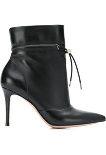 Gianvito Rossi Ankle Boot Avery - Preto