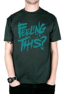 Camiseta 182Life Feeling This Musgo