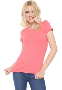 Camiseta Lunender Lisa Rosa