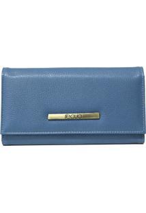 Carteira Recuo Fashion Bag Azul