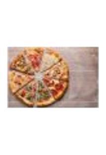 Painel Adesivo De Parede - Pizza - Pizzaria - 1223Pnm