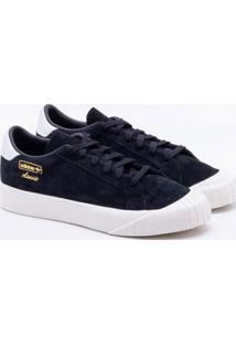 2ce8fada8b391 Lojas Paqueta. Tênis Adidas Everyn Originals Preto ...