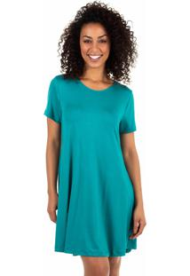 Camisola Curta Homewear Verde - 589.073 Marcyn Lingerie Camisolas Verde