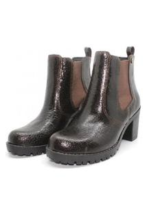Bota Barth Shoes Bury Crackele - Marrom