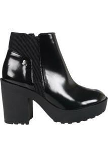 Ankle Boot Loucos E Santos Box Soft L51067001 A01 - Feminino-Preto