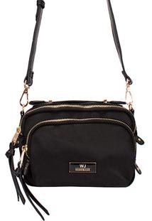 Bolsa Crossbody Pequena Its! Nylon Preto