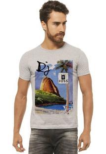 Camiseta Joss - Teleferico -Masculina - Masculino-Mescla