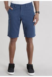 Bermuda Slim Azul Marinho