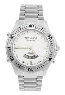 Relógio Technos Skydiver T205Iw/1P Prata T205Iw/1P