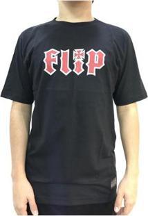 Camiseta Flip Hkd Logo Masculina - Masculino