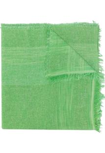 Fabiana Filippi Echarpe Com Trama - Verde
