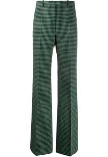 Givenchy Calça Xadrez - Verde
