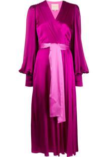 Roksanda Vestido Midi Elena - Rosa