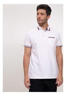 Camisa Golo Em Piquet