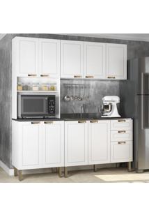 Cozinha Completa 3 Peças Americana Multimóveis 5907 Branco