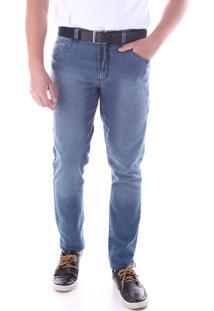 Calça 2207 Jeans Azul Claro Traymon Modelagem Skinny