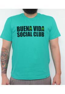 Buena Vida - Camiseta Clássica Masculina