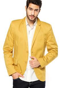Blazer Colcci Bolsos Amarelo