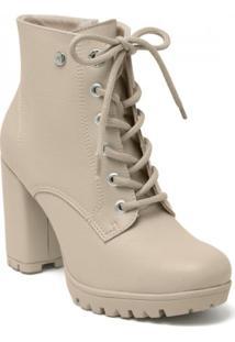 Bota Via Marte Ankle Boot Feminina