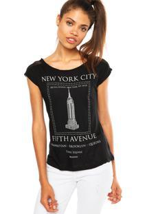 Blusa Mrc New York Preta
