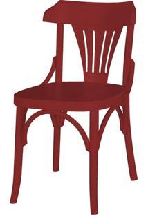 Cadeira Opzione Acabamento Vinho