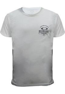 Camiseta Oakley Trank Trad Tee Masculino - Masculino-Cinza