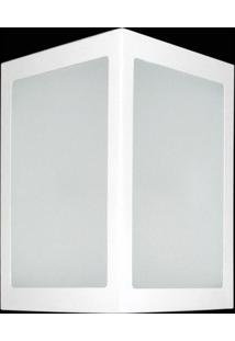 Arandela Externa Triangular 3852 Branco
