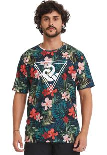 Camiseta Estampada Lavíbora Tropical Multicolorido