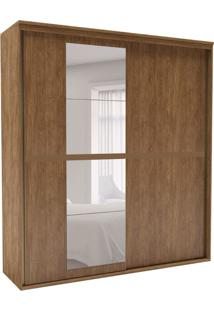 Guarda-Roupa Casal Sofisticato Com Espelho 2 Pt 6 Gv Álamo