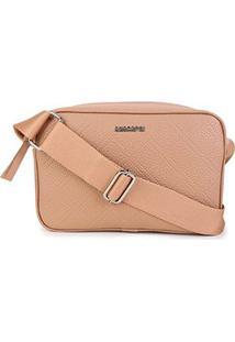 Bolsa Anacapri Mini Bag Eco Ravena Feminina - Feminino-Nude