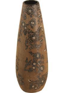 Vaso Decorativo De Porcelana Wuhan