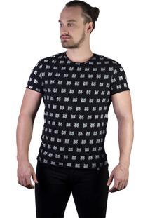 T-Shirt Guaxinim Carpinteiro Do Oeste Preta