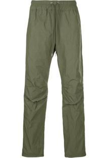 John Elliott Drawstring Waist Trousers - Green