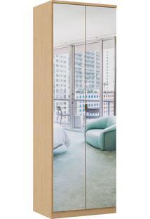 Módulo Com 2 Portas Com Espelho E 2 Gavetas Elegance 4221A-Móveis Castro - Angelin