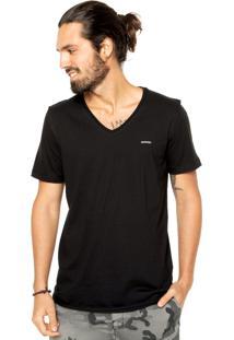 Camiseta Sommer Mini Bord Preta