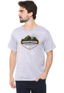 Camiseta Eco Canyon Mountains Cinza