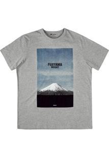 Camiseta Estampada Na Modelagem Regular E Malha De Algodão