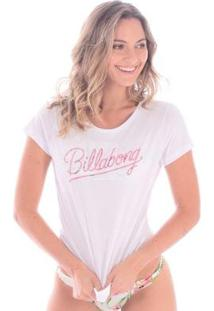 Camiseta Billabong Dream Flower - Feminino