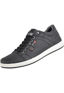 Tênis Sapatenis Cr Shoes Com Elástico Lançamento Preto