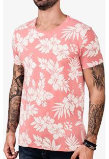 Camiseta Hibisco Branco 102600