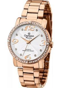 Relógio Feminino Champion Rose Passion Analógico Ch24768Z