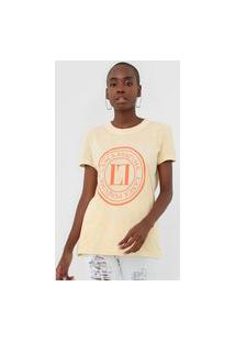 Camiseta Lança Perfume Tie Dye Amarela
