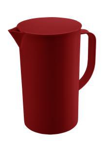 Jarra Com Tampa Casual 19,2 X 13,5 X 22,4 Cm 300 Ml Vermelho Bold Coza